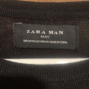 Men's Zara Man Scoop Neck Sweater